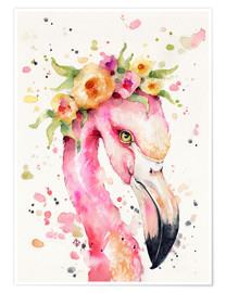 Plakat Little flamingo