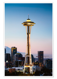 Plakat The Space Needle, Seattle, USA