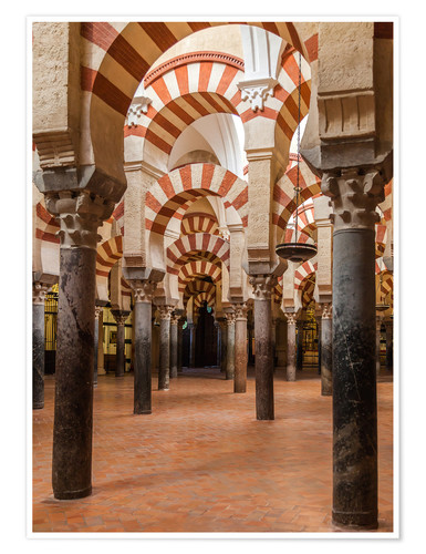 Plakat The Mosque of Cordoba