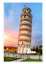 Plakat Pisa, place of miracles