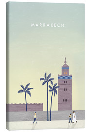 Obraz na płótnie  Marrakesh illustration - Katinka Reinke