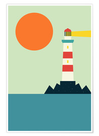 Plakat  Light House - Andy Westface
