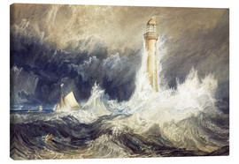 Obraz na płótnie  Bell Rock Lighthouse - Joseph Mallord William Turner