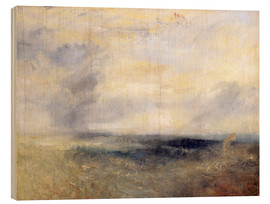 Obraz na drewnie  Margate from the Sea - Joseph Mallord William Turner