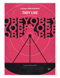 Plakat They Live