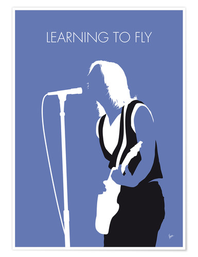 Plakat Tom Petty - Learning To Fly