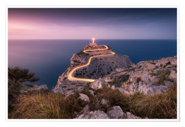 Plakat  Evening light at Cap Formentor (Mallorca / Spain) - Kristian Goretzki