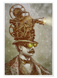 Plakat The projectionist