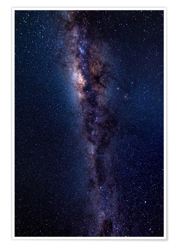 Plakat The Milky Way Galaxy