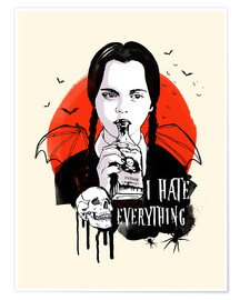 Plakat Wednesday, Addams Family