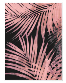 Plakat Delicate palm leaves