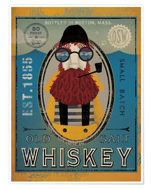 Plakat  Fisherman IV Old Salt Whiskey - Ryan Fowler