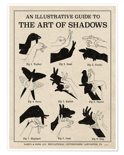 Plakat The Art of Shadows