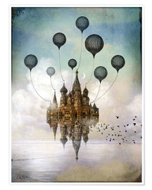 Plakat  Travel to the East - Catrin Welz-Stein