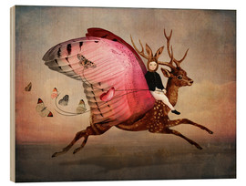 Obraz na drewnie  Enjoy the ride - Catrin Welz-Stein