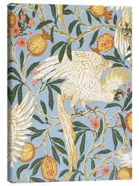 Obraz na płótnie  Cockatoo and Pomegranate - Walter Crane