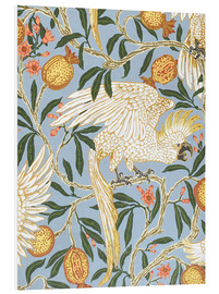 Obraz na PCV  Cockatoo and Pomegranate - Walter Crane