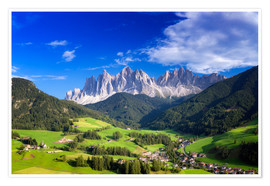 Plakat Summer in south Tyrol