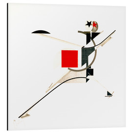 Obraz na aluminium  The new man - El Lissitzky