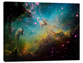Obraz na płótnie  The Eagle Nebula - Ken Crawford