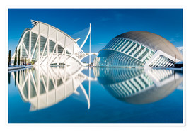 Plakat Museum Valencia, City of Arts and Science