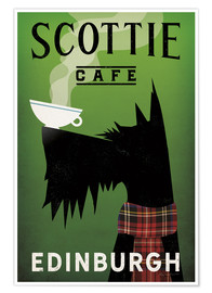 Plakat  Scottie Cafe - Ryan Fowler