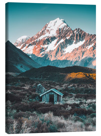 Obraz na płótnie  Hut at Mount Cook, New Zealand - Nicky Price