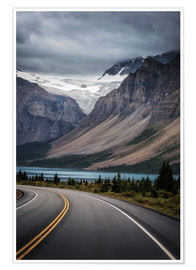 Plakat Icefields Parkway