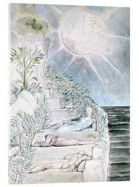 Obraz na szkle akrylowym  Dante and Statius sleep - William Blake