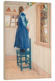 Obraz na drewnie  Suzanne and another - Carl Larsson