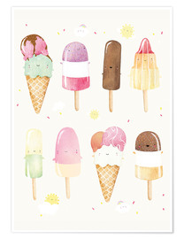 Plakat Ice Cream