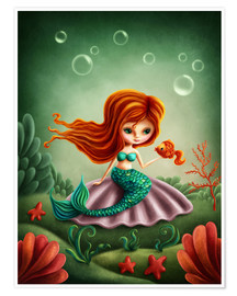 Plakat Little mermaid