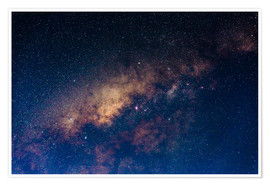 Plakat The core of the Milky Way