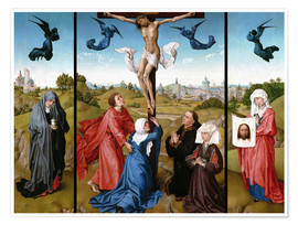 Plakat Triptych, The Crucifixion