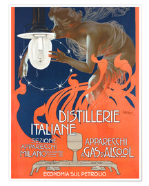 Plakat Italian distilleries