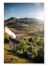 Plakat  Glenfinnan viaduct in Scotland - Sören Bartosch