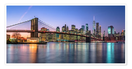 Plakat Colorful lights in New York