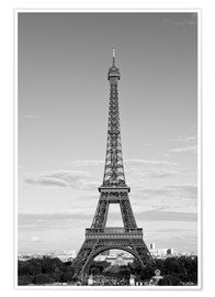 Plakat Eiffel Tower PARIS IX